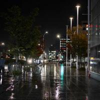 夕暮れ 新潟駅南口