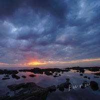 能登島勝尾崎の夜明け