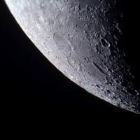 月面南部の拡大