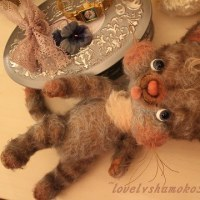 lovely💛な猫ちゃん2匹完成~…ママボシュウ(●´ω`●)ゥ