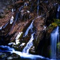 冬の吐竜の滝