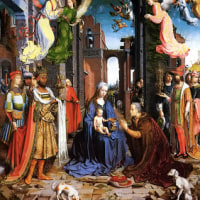 The Adoration of the Kings by Jan Gossaert   リアルな空想