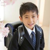 小学校入学の男の子