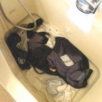 休みの日は洗濯です。