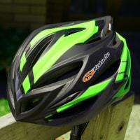 ヘルメット新調 OGK STEAIR インパクトマットグリーン