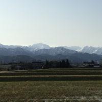 今朝の「立山連峰」パートⅡ