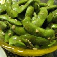 もっと簡単ガーリック枝豆