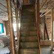 総社市久代で室内階段の架け替え