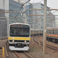 東京の電車 中央線