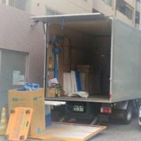 OAフロア工事と事務機搬入