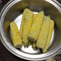 トウモロコシ初収穫