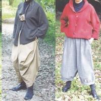 岩本千穂の自然素材の服