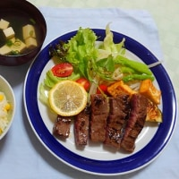 夏バテ防止にトウモロコシご飯&梅田ランチ