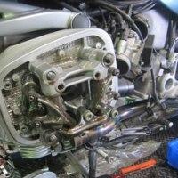 BMW R1150 エンジンメンテナンス。