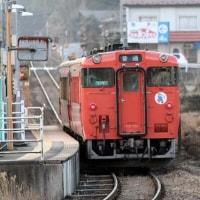 烏山線鴻野山駅付近にて・・・