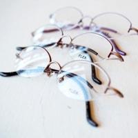 デザイナーの顔が見える眼鏡を。ーFLEA(フリー)の新作が入荷ですー