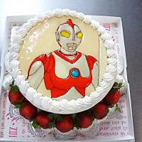 キャラクターケーキ(*^^*)ウルトラマン(*^^*)