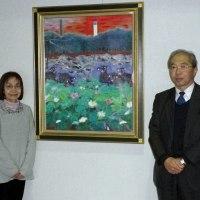 福島に絵を届ける旅