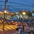 広島の花火大会へ