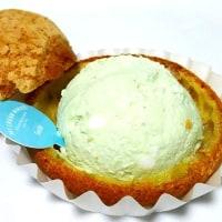 メロンクリームソーダのシュークリーム
