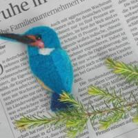 幸せの青い鳥☆カワセミブローチ教室in南大高中日文化センター のご案内