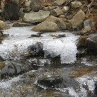 氷の滝とお天気