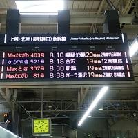 ブログ170114 新潟温泉旅行2~上野から長岡、新潟へ  上越新幹線