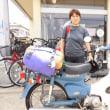 レンタルバイクのお客様が増えてきました。