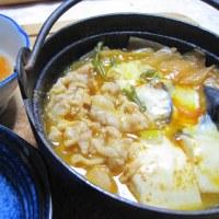 「チゲ鍋」374kcal