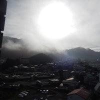 日曜日 朝の天気