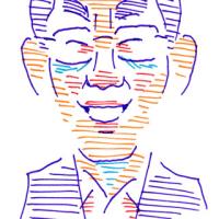 対面・席描きの練習(似顔絵)