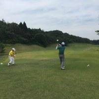 今年 国内初めてのゴルフ