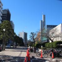 2月19日 日曜日 10時過ぎに散歩(自転車)
