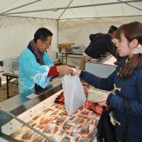 道定置漁業協会が札幌駅前で「秋サケ祭」 6管内から旬のブランドサケを限定販売