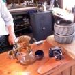 「くちのつ巷珈琲焙煎所」小屋カフェ訪問