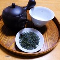 2017・5・29 日影茶屋のれんこん餅と一保堂の新茶(^^♪この季節の夜はこれが好い(^^♪