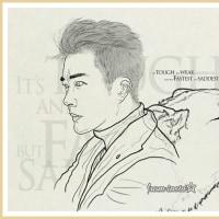 #ファンアート#クォン・サンウ#イラスト~スケッチだけで感じが浮かんで先に上げた^^