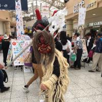 上野に秋田が来てました
