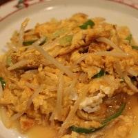 中華風献立 四川風なす炒め・えびとトマト、キュウリの甘酢炒め・卵ともやしの炒め物