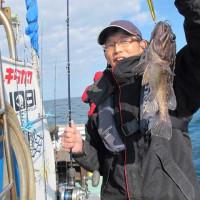 2/25(土):魚活性低いですがヒラマサにメジロとゲット!!根魚でヒラメにアコウにウッカリカサゴにホウボウとゲット^^