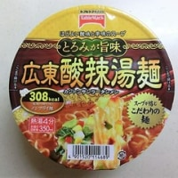広東酸辣湯麺。