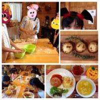 10月最初の子ども料理教室「たべごとおけいこ@クックの森」♪