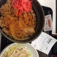 牛丼こもサラダ 430円