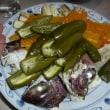 鯛アラと夏野菜蒸し