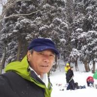 雪上訓練、於比良山