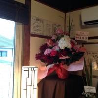 寺カフェにコンサの背番号8番って・・・