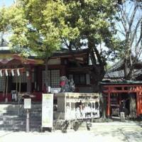 『浪速史跡めぐり』安倍晴明神社・阿倍野筋を南に阪堺線の松虫駅を南に行くと通りを少し入った所に「安倍晴明神社」がある
