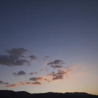 1月4日 淡い朝焼け