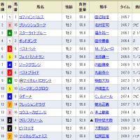 【クレッシェンドラヴ】ガーン(T_T)、競馬できず大敗。。 東京5R・12着