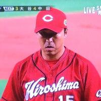 カープ黒田さんの姿に涙する
